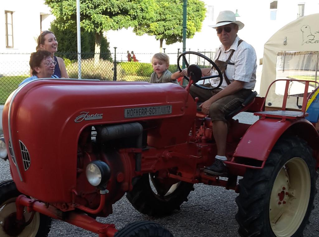 Traktorfahrten in den Moagraben