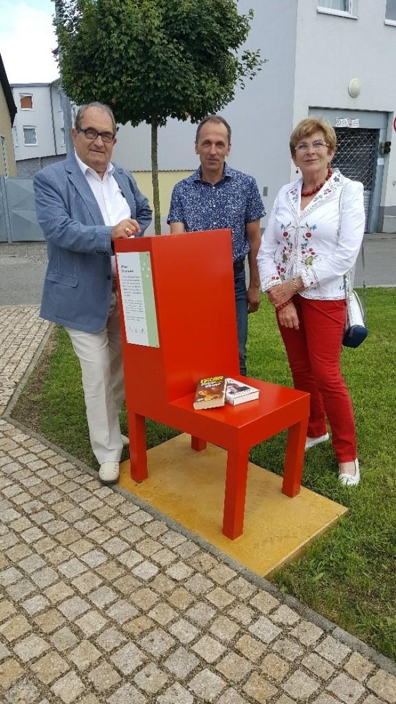 MR Werner Heindl, Reinhard Deix und Marieluise Heindl