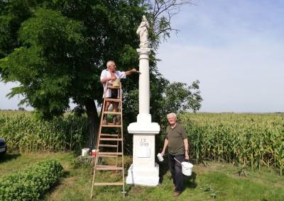 Renovierung von zwei Kleindenkmälern