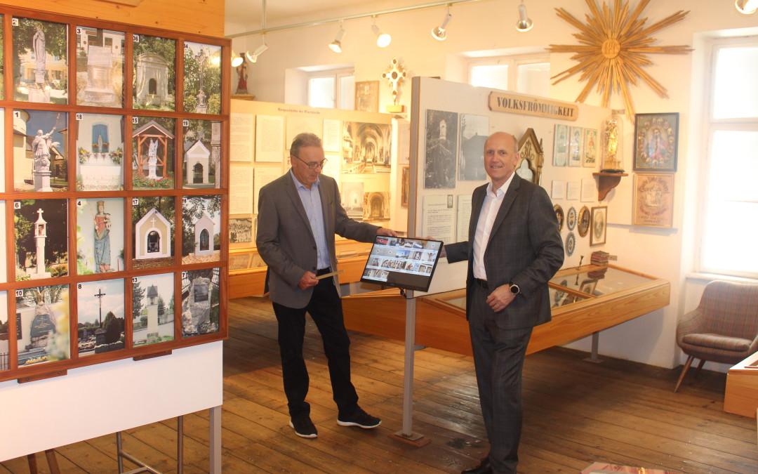 Idee umgesetzt! Digitales Wissen jetzt im Heimatmuseum
